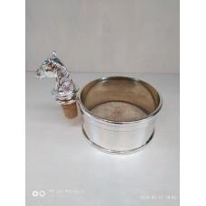 """Підставка для пляшки """"Кінь"""" з корком 11*6*9см (шт.) 258-198 Бренд Lefard"""