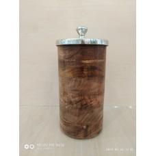 Ємкість дерев'яна 26 см SIL-Ni0774