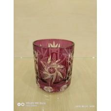 Набір склянок для віскі фіолет. 6шт. M.Rika (н-р) MR-F-viski, Польща