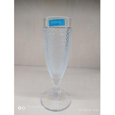 Набір келихів для шампанського 4шт. прозорі Bicos