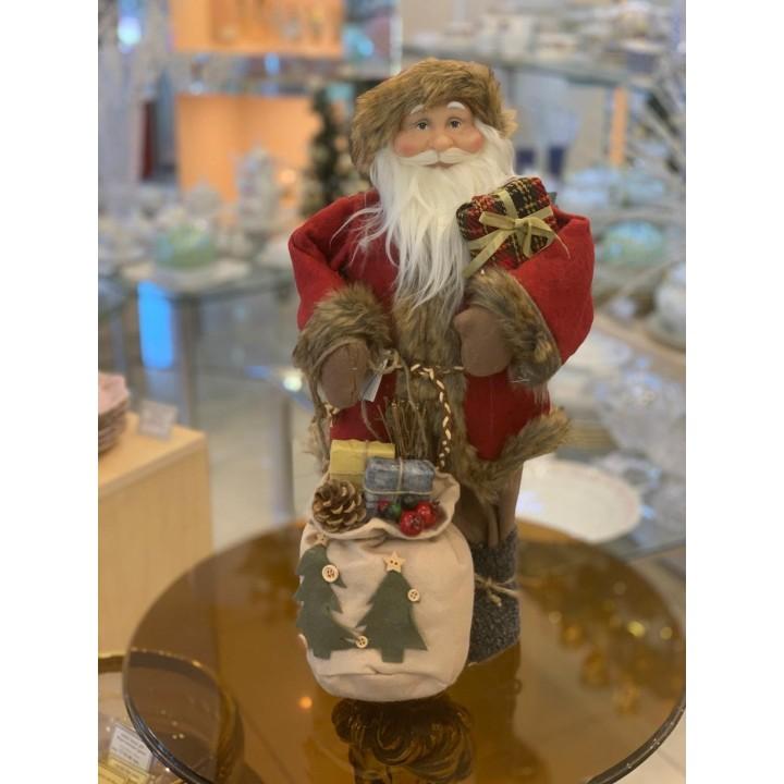 Фігурка «Дід Мороз з мішком подарунків» 027NC