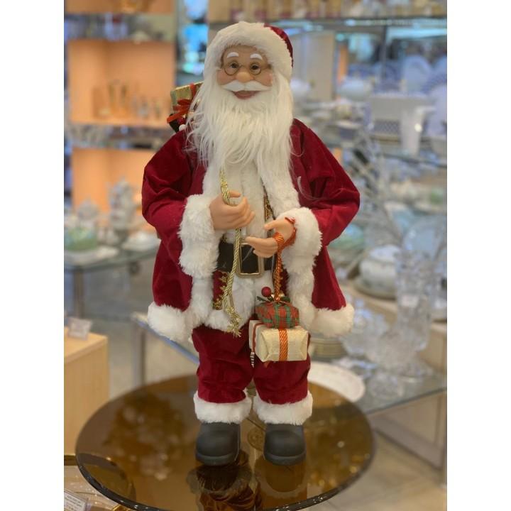 Фігурка «Санта Клаус з коробками в руках» 032NC